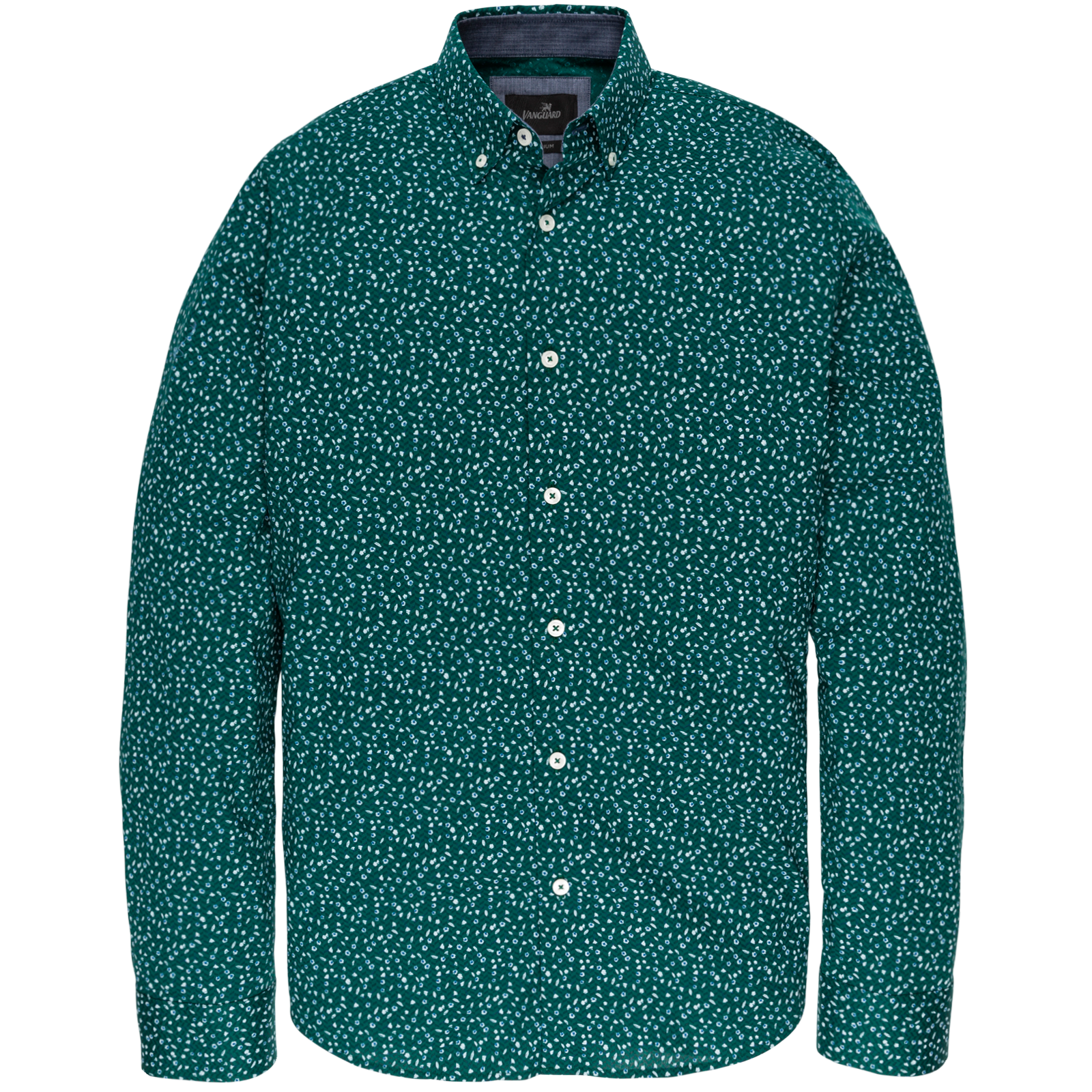 Vanguard VSI197400 6064 Vanguard long sleeve shirt cf print Alpine Green
