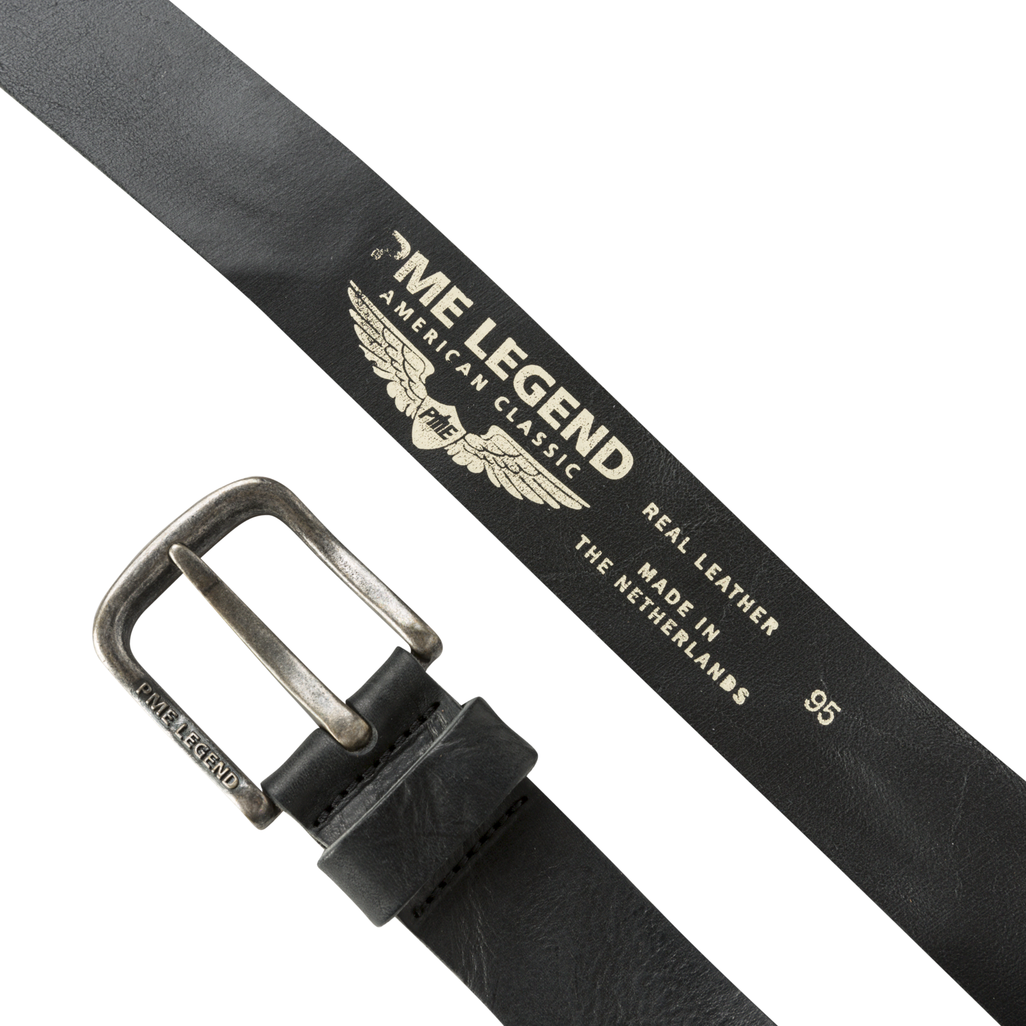 PME Legend PBE00113 999 PME Legend belt leather Black