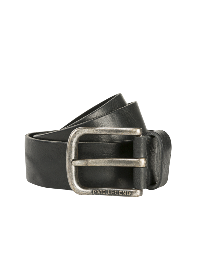 PBE00113 999 PME Legend belt leather Black