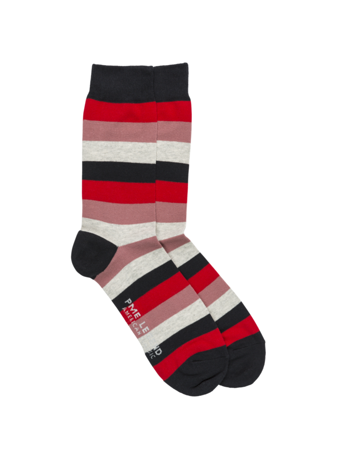PAC201902 3097 PME Legend Socks Cotton blend Racing Red