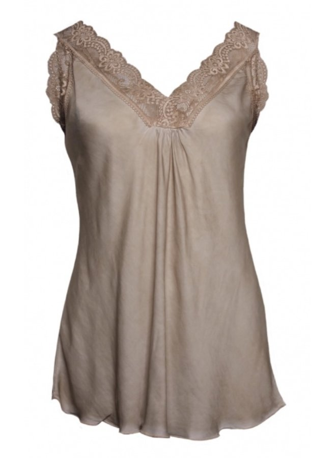 21336-2 036 20to Top lace Beige