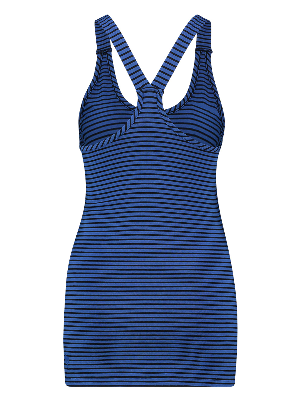 L.O.E.S. 20322 6669 Loes Willow stripe top brblue/dkblue