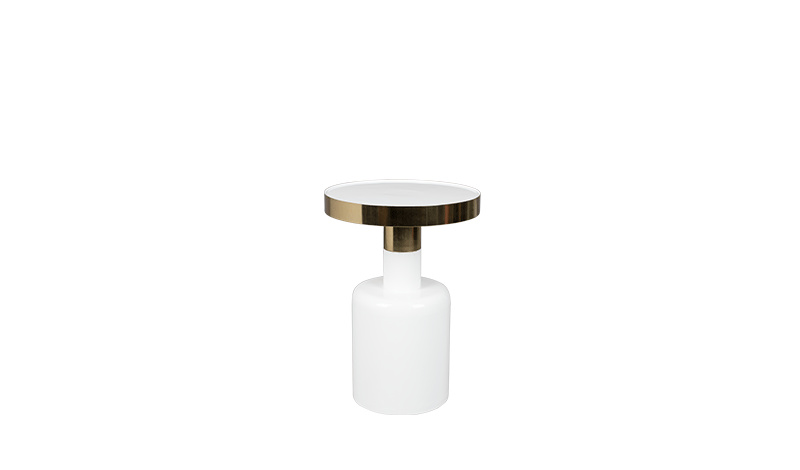 Zuiver Zuiver Side Table glam wit