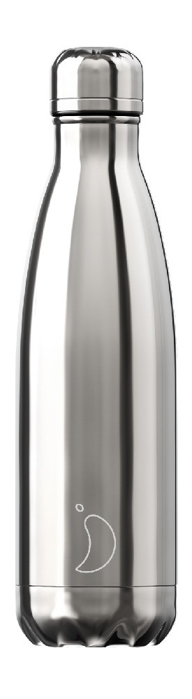 Chilly Chilly Bottle Silver 500ml