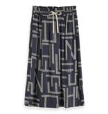 Scotch & Soda 157007 0219 Scotch en Soda Midi viscose skirt with allover print Combo C
