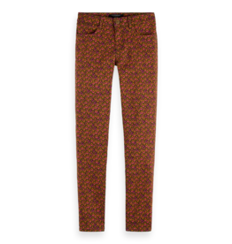 Scotch & Soda 159031 0218 Scotch & Soda 'La Bohemienne' printed pants in organic cotton Combo B