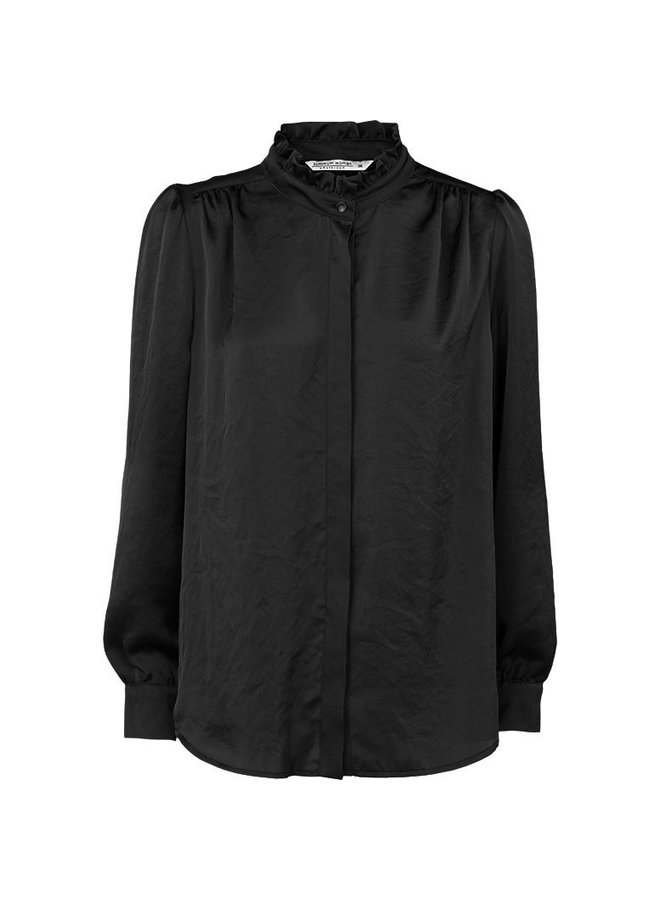 2s2457-11234 990 Summum Blouse silky touch Black