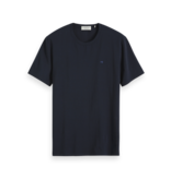 Scotch & Soda 153658 57 Scotch & Soda basic T-shirt ronde hals navy