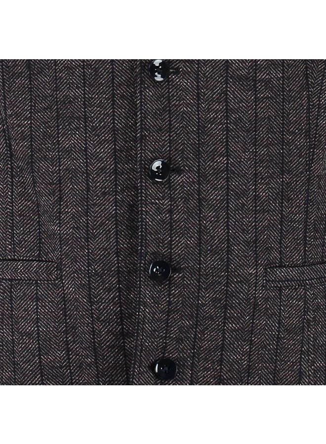 GBIW20-M5 Blue Industry shirt brown