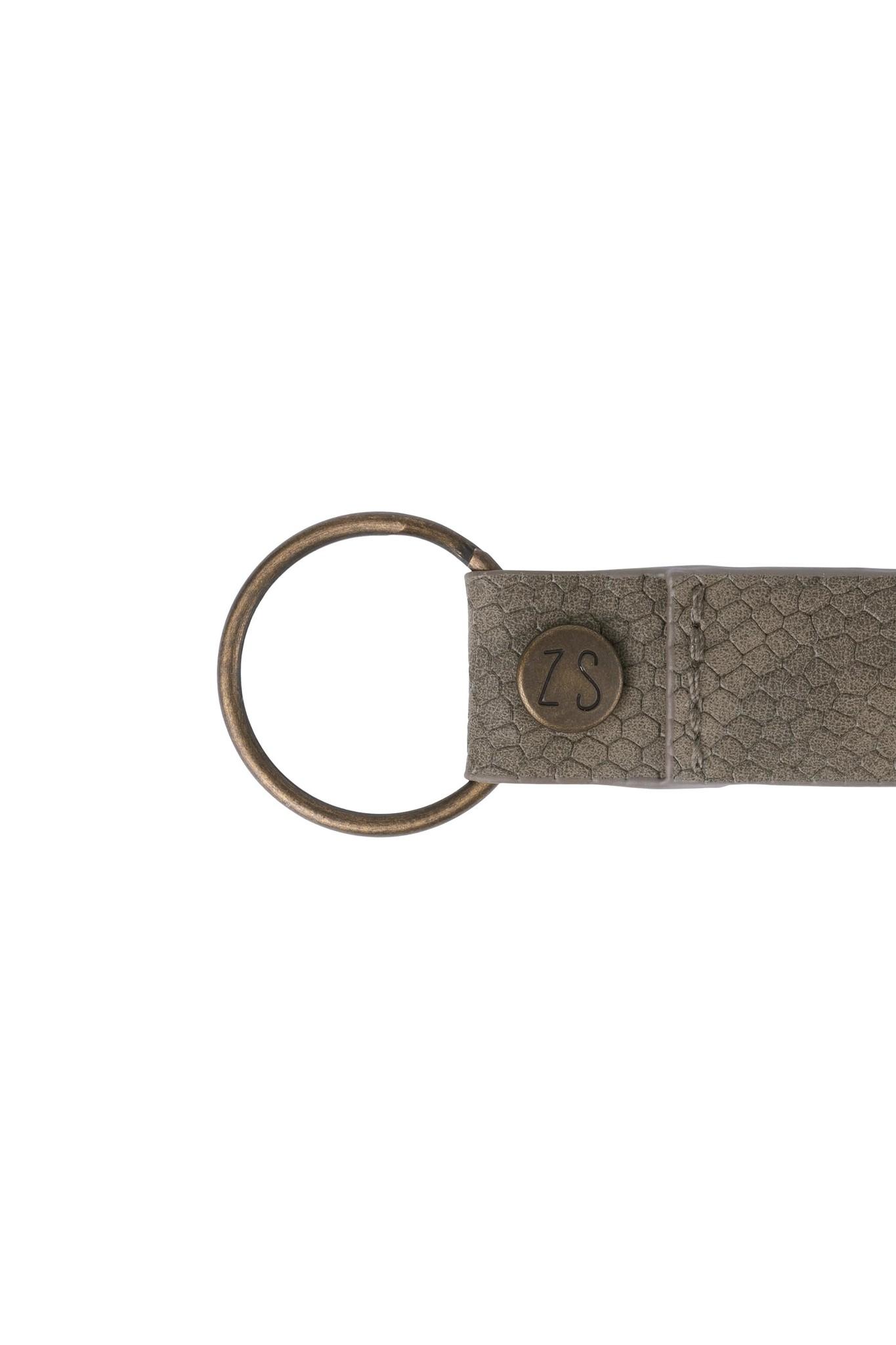 Zusss 0208-018-4617 Zusss leuke sleutelhanger lieverd snake grijs-groen