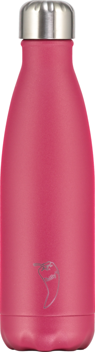 Chilly Chilly Bottle Pink Matte 500 ml