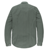 Cast Iron CSI206618 6147 Cast Iron long sleeve shirt print on poplin stretch Green