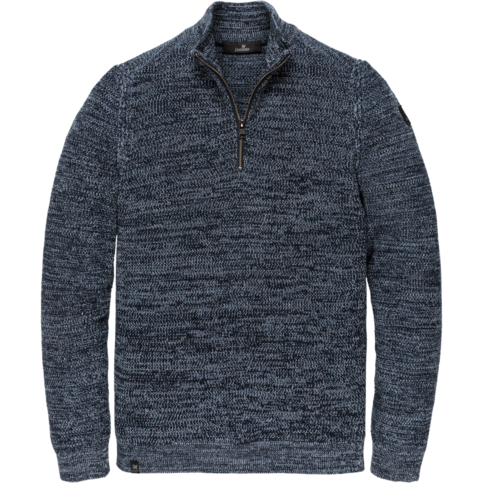 Vanguard VKW206325 5281 Vanguard half zip collar cotton Blue
