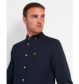 Lyle & Scott LW1302VTR Lyle&Scott Regular Fit Light Weight Oxford Shirt, Z271 Dark Navy