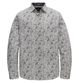 Vanguard VSI207240 7003 Vanguard long sleeve shirt print on poplin stretch White