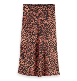 Scotch & Soda 159112 0222 Scotch & Soda Bias cut midi skirt Combo F