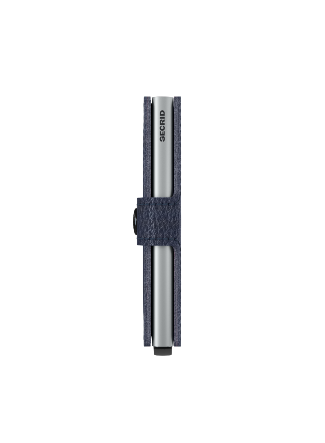 MVg Secrid Miniwallet Veg navy Silver