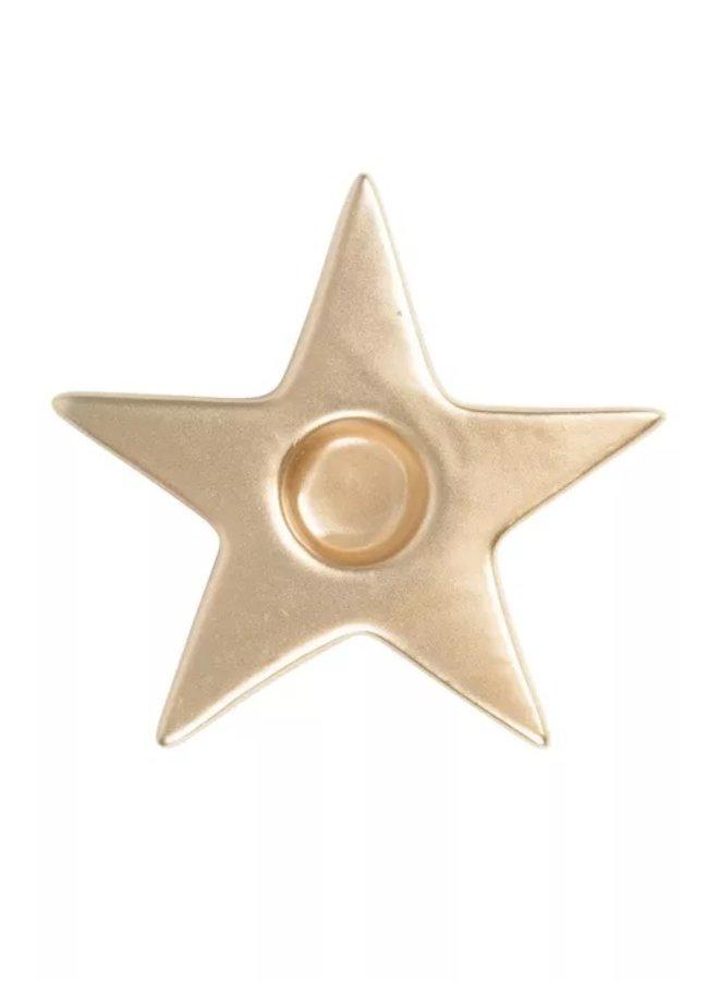 0502-024-0500 Zusss kandelaar ster goud