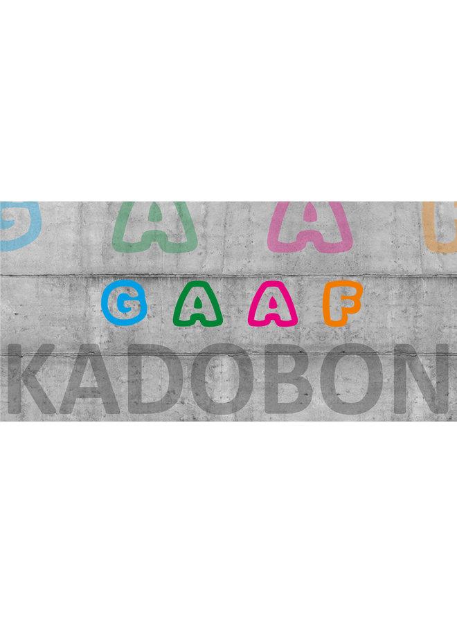 GAAF Kadobon 25 euro