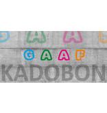 GAAF Kadobon 15 euro