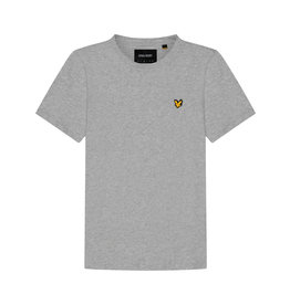 Lyle & Scott TS400VOG Lyle & Scott Plain T-Shirt, D24 Light Grey Marl