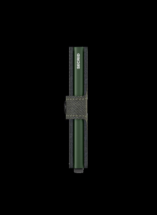 MTw Secrid Miniwallet Twist Green