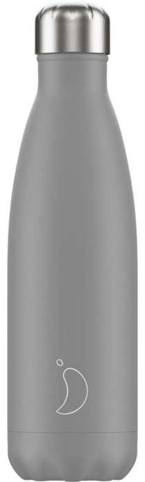 Chilly Chilly Bottle Grey Mono 500 ml