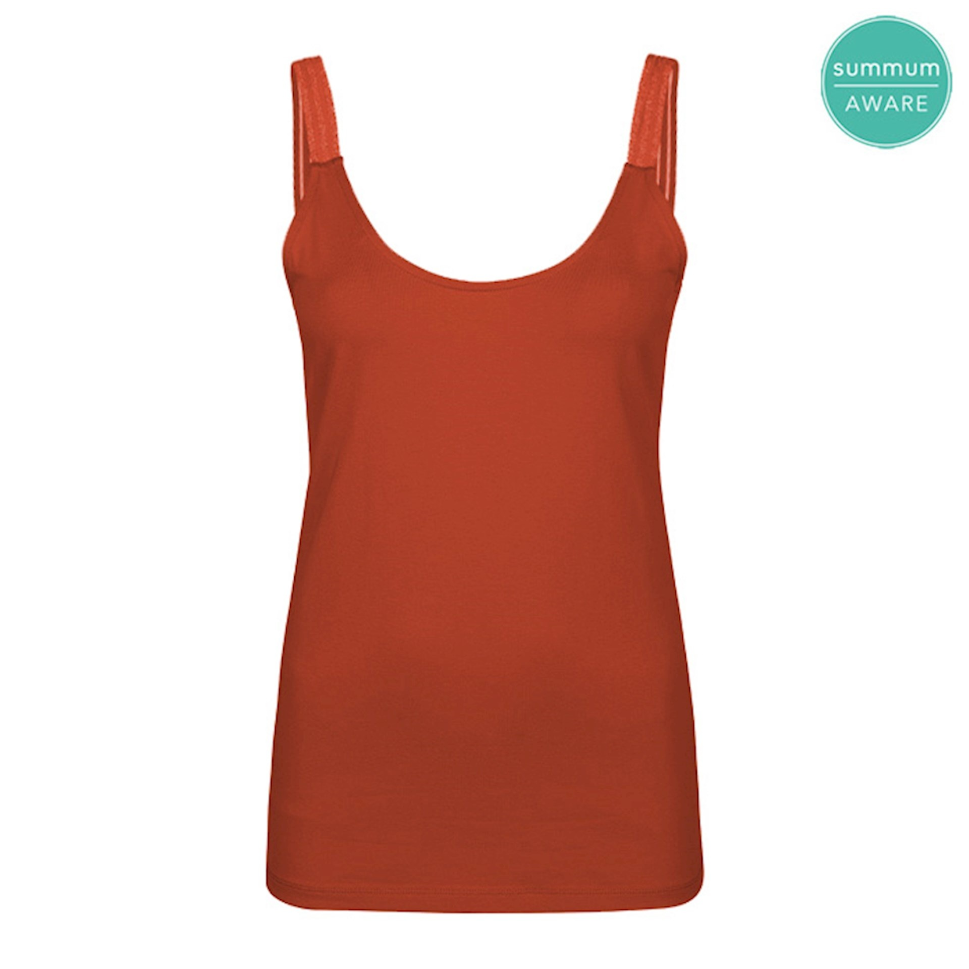 Summum 3s4469-30212 285 Summum Singlet r-neck organic cotton ea luxury basics Terra