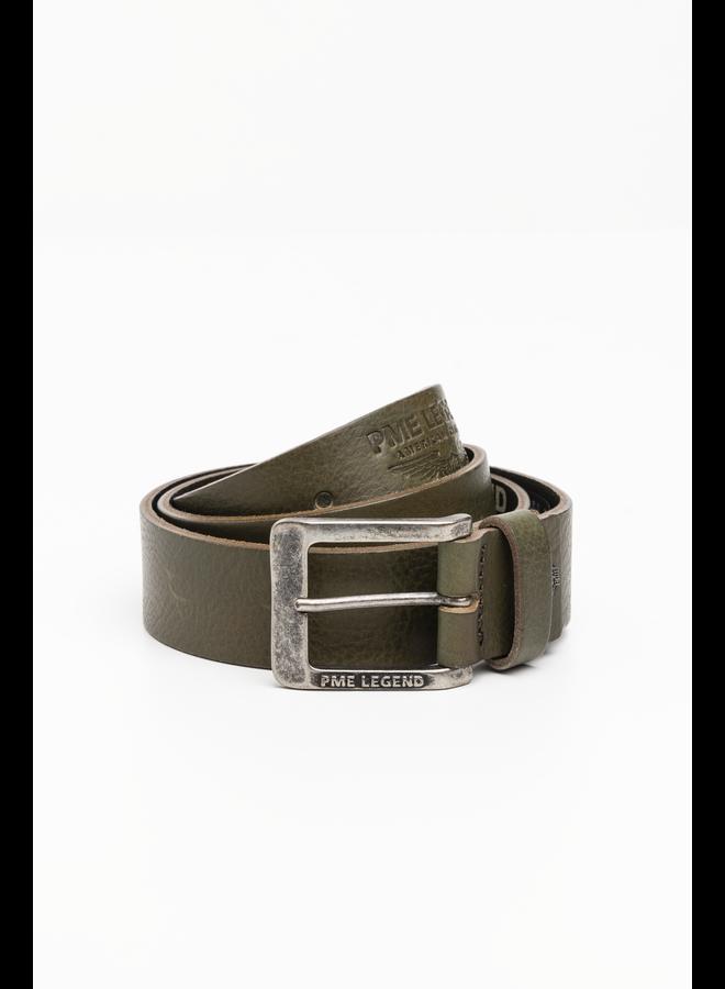 PBE215203 6446 PME Legend Belt Italian leather Green