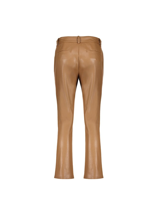 11570-19 740 Geisha Pants PU cognac