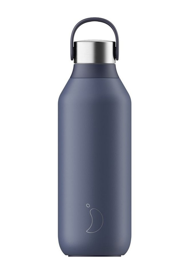 Chillys bottle 2.0 Whale Blue 500ml