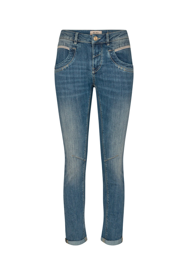 140981 401 Mos Mosh Naomi ReLoved Jeans Blue