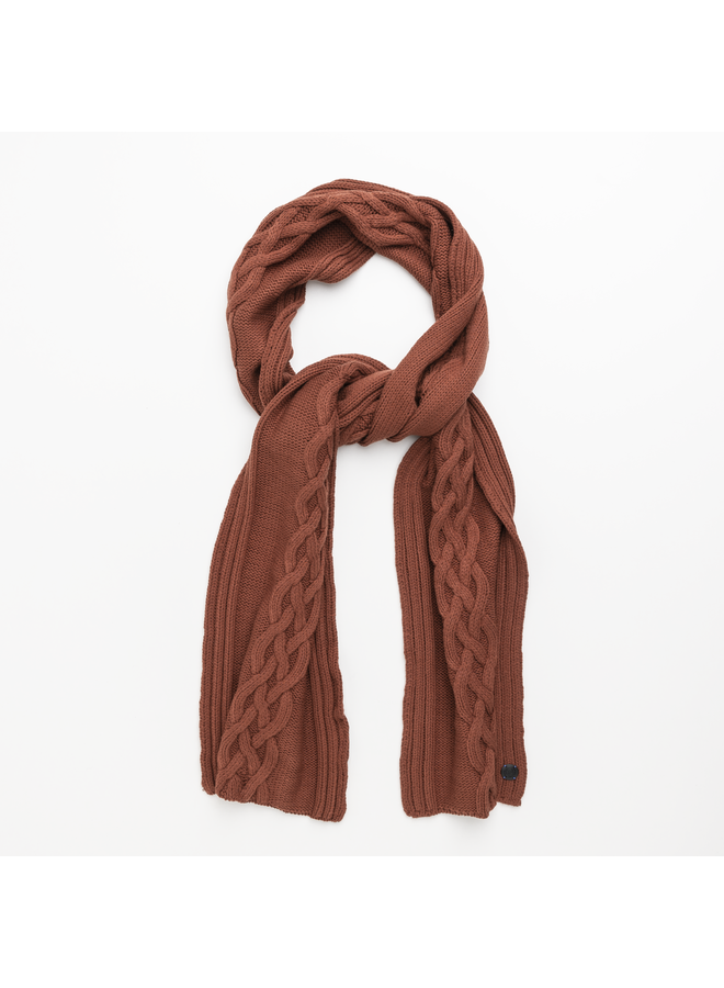 CAC216101 3051 Cast Iron Scarf Knitted scarf Red