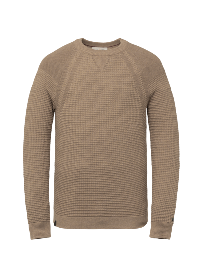 CKW216320 8092 Cast Iron R-neck cotton solid 12gg Brown