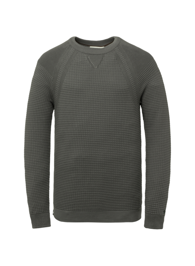 CKW216320 9133 Cast Iron R-neck cotton solid 12gg Grey