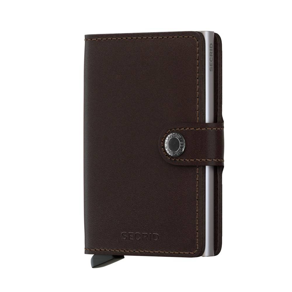 Secrid MO Secrid Miniwallet Original Dark Brown