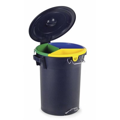 Faplana Recycle Bin Blue (52 liter)