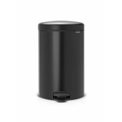 Brabantia Newicon pedaalemmer - 20 liter - matt black