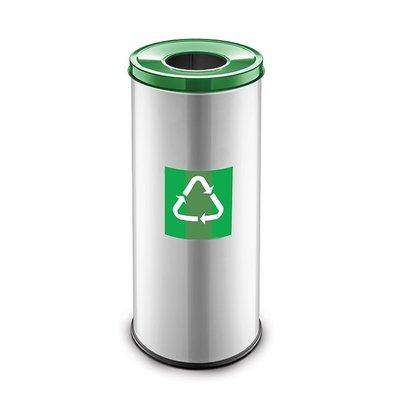 Easybin Eco flex round - 45 liter - green