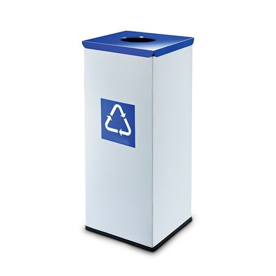 Easybin Eco flex square - 45 liter - blue