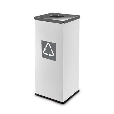Easybin Eco flex square - 45 liter - grey