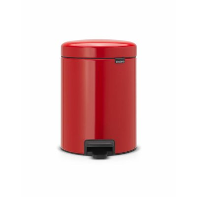 Brabantia Newicon pedaalemmer - 5 liter - passion red