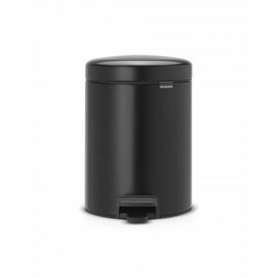 Brabantia Newicon pedaalemmer - 5 liter - matt black