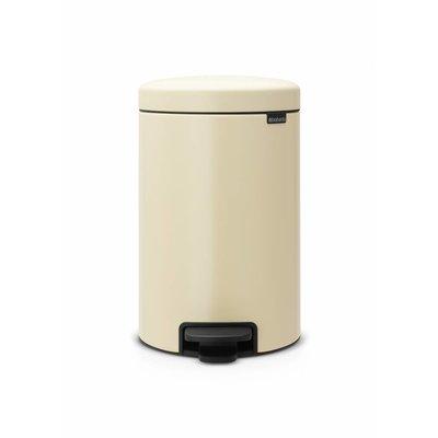 Brabantia Newicon pedaalemmer - 12 liter - almond