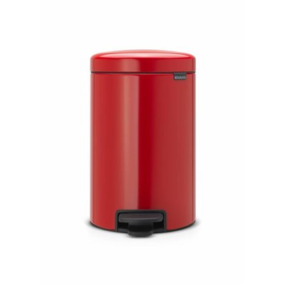 Brabantia Newicon pedaalemmer - 12 liter - passion red