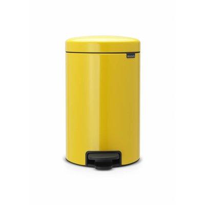 Brabantia Newicon pedaalemmer - 12 liter - daisy yellow