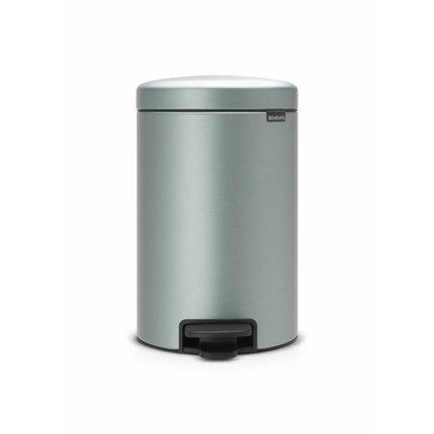 Brabantia Newicon pedaalemmer - 12 liter - metallic mint