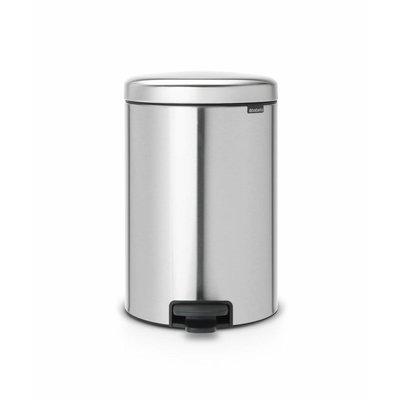 Brabantia Newicon pedaalemmer - 12 liter - matt steel