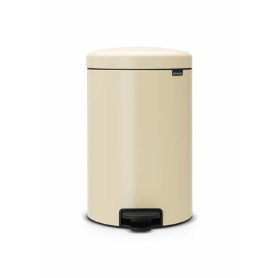Brabantia Newicon pedaalemmer - 20 liter - almond