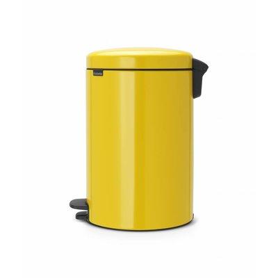 Brabantia Newicon pedaalemmer - 20 liter - daisy yellow